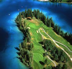Jasper Park Lodge Golf Course in Jasper, Alberta #Golf