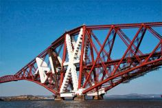 Protective covering for workers on the Forth Rail Bridge in Scotland - Dark Roasted Blend: Why Not: LEGO Real Life Construction Ideas