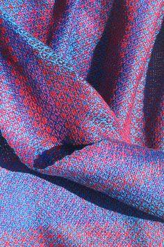iridiscencse, silk by Freya Willemoes-Wissing, via Flickr