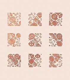 Illustration series in homage to Claude Monet. Ad Design, Vector Design, Pattern Design, Branding Design, Hand Lettering Art, 4 Tattoo, Stencil, Art Deco, Rangoli Designs