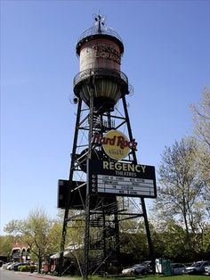 Trolley Square water tower