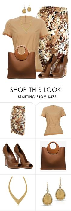 Sin título #1656 by marisol-menahem on Polyvore featuring moda, Ter Et Bantine, Gucci, Michael Kors, Elsa Peretti and Anne Sisteron