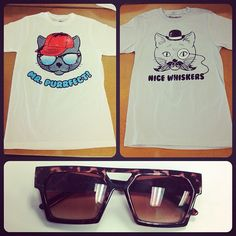 For our Buffalo Exchange men; catastic tees and a sweet pair of shades! In stores soon!