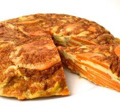 Hei og god mandag! Har du smakt spansk tortilla? Prøv den med en liten vri og lag den med søtpot...