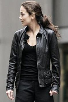 leather jacket. Queen of the South.