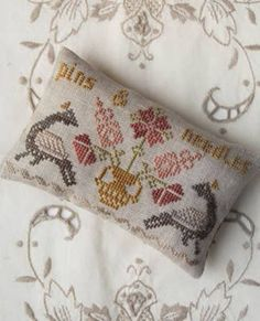 "PHEASANT STREET SAMPLERS ""Pins & Needles"" 