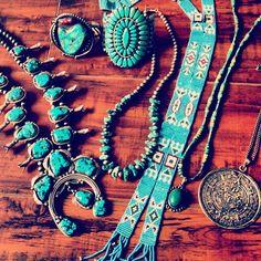 Vintage Navajo Jewelry