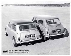 Less than a hundred Minisprints were built in the mid-sixties by a genius called Neville Trickett. Mini Cooper Classic, Mini Cooper S, Classic Mini, Classic Cars, John Cooper Works, Motorcycle Design, Custom Cars, Antique Cars, Vintage Cars