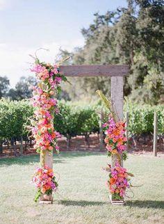 Mandy Scott Flowers, Floral Arch