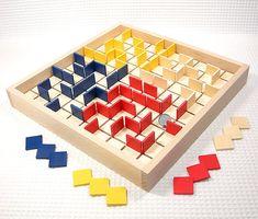 Mtoysアトリエ メイズ|自作迷路ゲーム 知育玩具 木製おもちゃ 日本製