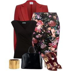 """""""black & red"""" by divacrafts on Polyvore"""