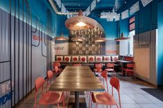 Prague. Burrito Loco is a new hyper-Mexican fast-food restaurant