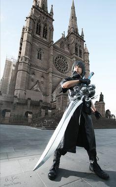 Final Fantasy Cosplay: Noctis.