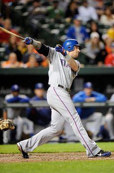Texas Rangers' Josh Hamilton hits his 4th home run of the night vs Orioles ~ Yes, yes he did!!!!