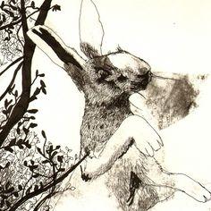 Illustration from Watership Down by Jimbob Art. #rabbits