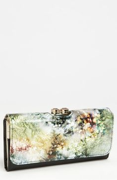Ted Baker London Sequin Print Wallet available at #Nordstrom