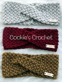 New Pictures knitting crochet ear warmers Thoughts Häkelmuster: Twisted Beans Ear Warmer Stirnband häkeln Headwrap PDF-Muster, Love Crochet, Crochet Gifts, Diy Crochet, Crochet Baby, Simple Crochet, Crochet Flowers, Crochet Ideas, Crochet Headband Pattern, Crochet Beanie