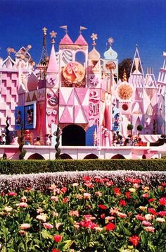 THIS IS WHY WE GO TO LA FOR DISNEY LAND!!!  this landscape is not at disney world FL