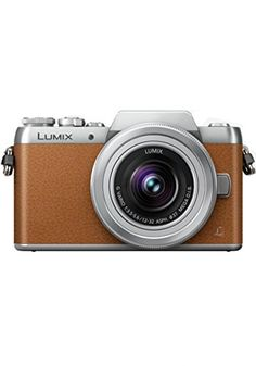 Panasonic LUMIX G DMC-GF8K with 12-32mm Lens Kit (Brown) (International Model)…
