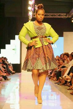History in the making at caribbean fashion week in jamaica. I also graced the runway in a non plus size segment. yes plus size models rock. designed by fashion designer kerin Scott of Ne'sera. International plus size model Tricia Campbell