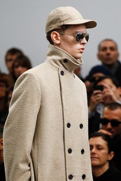 Neck detail Dior Homme Fall 2012 Menswear