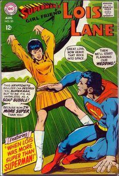 Superman's Girlfriend Lois Lane #85