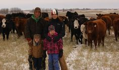 The Iveys, Aaron, Adrienne, Cole And Noelle, Are Setting Down Roots On The Family Farm Near Ituna, Sask. According To Aaron, There's No Better Place To Raise A Family.