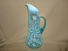 Antique Victorian NORTHWOOD Blue OPALESCENT by PastPossessionsOnly, $29.95