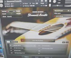 Это просто шикарно... #nativeinstruments #sessionguitarist #strummedacoustic #sample #guitar