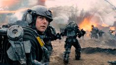 """New trailer for Tom Cruise and Emily Blunt in sci-fi thriller, """"Edge of Tomorrow"""" coming out June Best Sci Fi Movie, Sci Fi Movies, Hd Movies, Movies To Watch, Movies Online, Fantasy Movies, Disney Movies, Tom Cruise, Edge Of Tomorrow"""