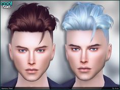 So, today (10th Jan) is my 23rd birthday, and this is my gift for you all!  Found in TSR Category 'Sims 4 Male Hairstyles'