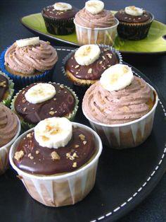 Muffins (ou cupcakes) banane, chocolat & beurre d'érable (Recette de Ricardo – Québec)