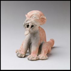 Seated Feline,Tolita Tumaco culture, Colombia or Ecuador,1st-5th century
