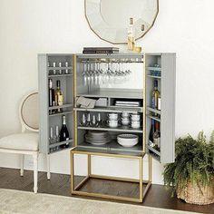 Limitierter Barschrank von Leonardo Di Caprio - Home bar cabinet - Drink Diy Home Bar, Modern Home Bar, Home Bar Decor, Bar Cart Decor, Bars For Home, Bar Furniture For Sale, Home Bar Furniture, Furniture Design, Furniture Ideas