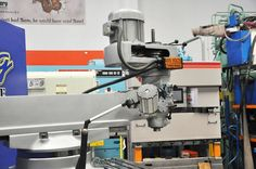 "10"" x 50"" Used Jinpu Vertical Turret Milling Machine, Mdl. CDM3-S WARRANTY"