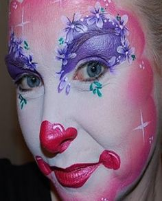 Flowery Clown by Fascinating Faces