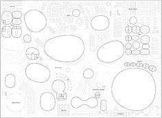 futureproofdesigns:  Plan Drawing of the Rolex Learning Center, Lausanne (Switzerland) SANAA 2009