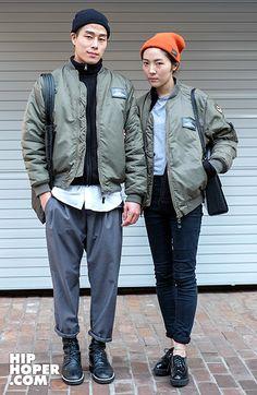 Couple look | Seoul a Streetstyle | HIPHOPER  | @printedlove