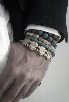 ZsaZsa Bellagio: Glam MAN  I want the cat bracelet for myself!!!