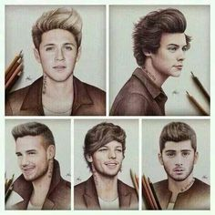 One Direction-Drawing