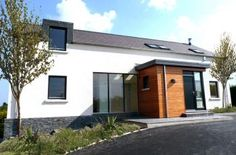 One off bespoke house in Belfast, rural design Country Homes, Belfast, Bespoke, House Plans, New Homes, Houses, Exterior, House Styles, Outdoor Decor