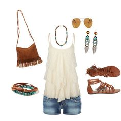 """""""Leather Fringe"""" by mkimlin on Polyvore"""