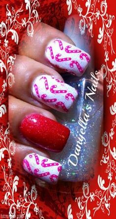 #christmas #winter #Winternailart #Christmasnailart #nailart #nailartdesigns #nails