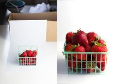Food Photography Tip - Cardboard shoe box
