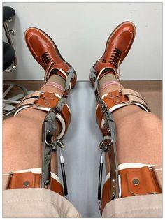 Braces, Legs, Gay, Suspenders, Bridge, Dental Braces