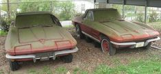 1964 & 1963 Corvette Convertibles