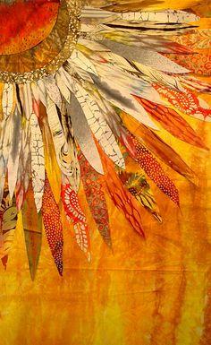 Sun Flower by Barbara Olson