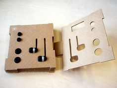 Sennheiser's Eco Product Packaging Makes Use of a Simple Cardboard Frame #marketing trendhunter.com