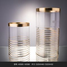 Gold Mecury tall Cylinder glass vase for wedding decoration