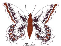SCHITE FLUTURI | Adelina Mărieş - design Insects, Artist, Artwork, Design, Painting, Animals, Work Of Art, Animaux, Painting Art